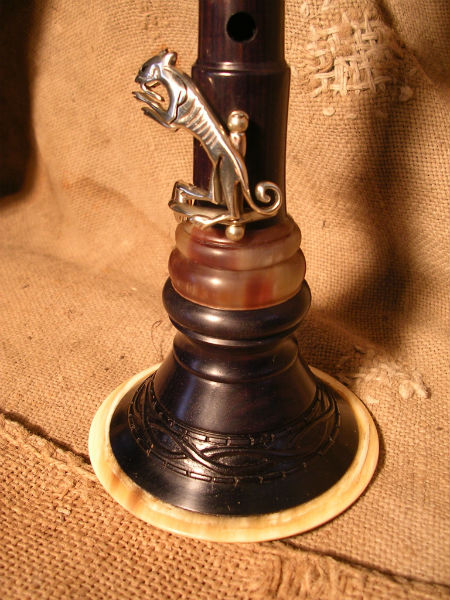 pavillon sculpté+clé guillochée ar bleiz