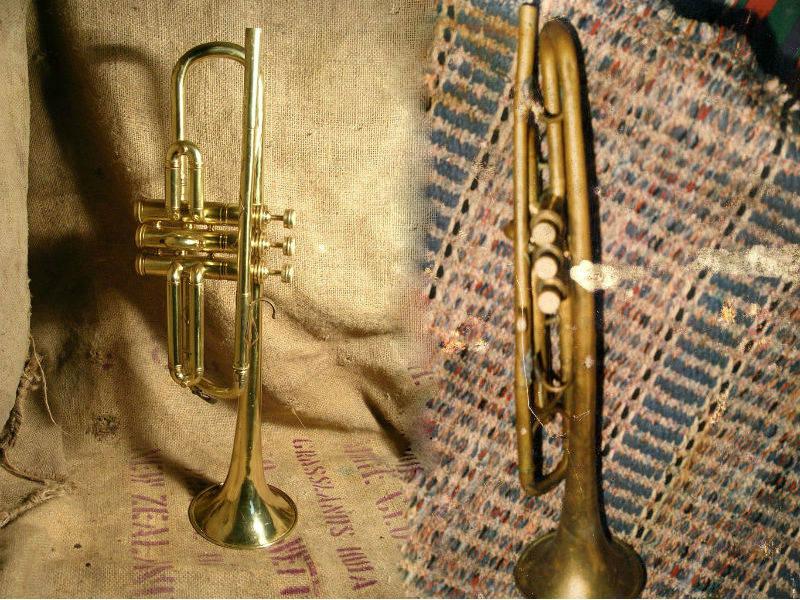 trompette avant après raccord